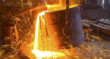 عبور تولید فولاد خام کشور از ۳۰ میلیون تن