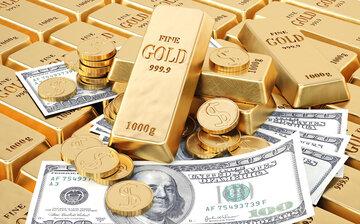 کاهشنرخ دلارو افزایشقیمت طلا