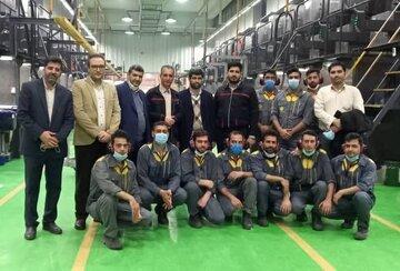 بازدید معاون عملیات و نظارت بورس کالا از دو واحد پلیمری و نساجی در اصفهان