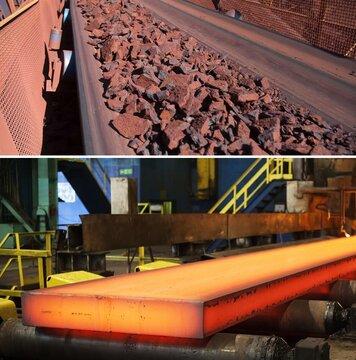 معامله یک میلیون و ۶۷۶ هزار تن فولاد و سنگ آهن در بورس کالا
