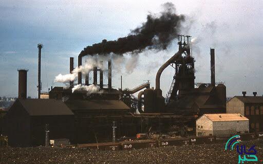 فولاد و آلودگی هوا