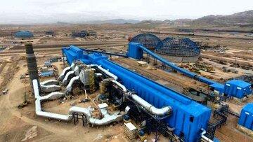 برنامه افزایش تولید سنگ آهن دانه بندی مجتمع سنگان تا ۲.۶ میلیون تن