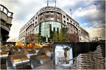 عرضه ۴۱۳ هزار تن فولاد و سیمان در بورس کالا